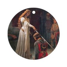 The Accolade by Leighton Ornament (Round)