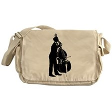 Double Bass Player Messenger Bag