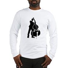 Double Bass Player Long Sleeve T-Shirt