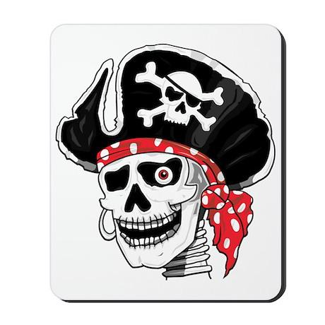 Pirate Skeleton Mousepad
