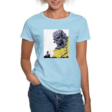 Disc Golf SKULL CAVE Women's Light T-Shirt