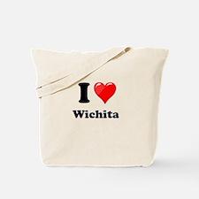 I Heart love Wichita.png Tote Bag