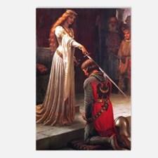 The Accolade by Leighton Postcards (Package of 8)