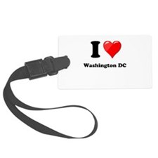 I Heart Love Washington DC.png Luggage Tag