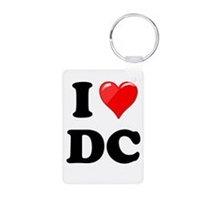 I Heart Love Washington DC - DC.png Keychains