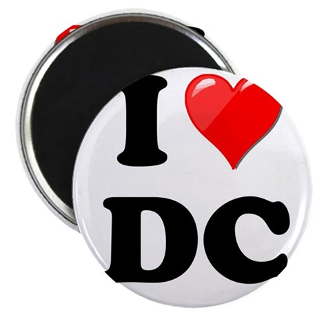 I Heart Love Washington DC - DC.png Magnet
