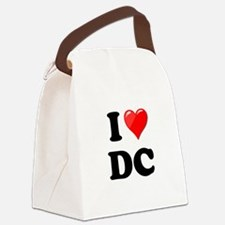 I Heart Love Washington DC - DC.png Canvas Lunch B