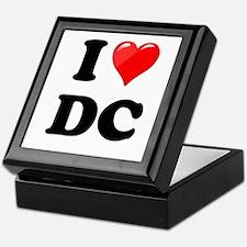 I Heart Love Washington DC - DC.png Keepsake Box