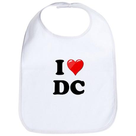 I Heart Love Washington DC - DC.png Bib