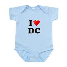 I Heart Love Washington DC - DC.png Infant Bodysui