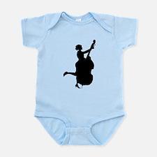 Double Bass Player Infant Bodysuit