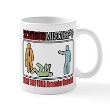 Zombie Mistake Trust Mug