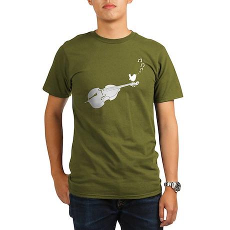 Songbird Organic Men's T-Shirt (dark)