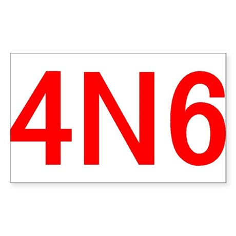 4N6 Sticker (Rectangle)