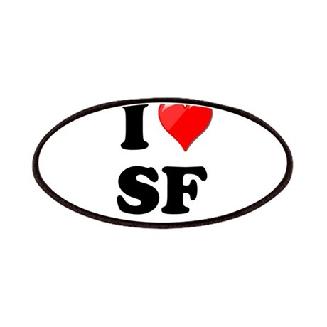 I Heart Love SF San Francisco.png Patches