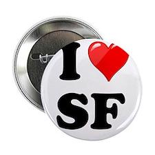 "I Heart Love SF San Francisco.png 2.25"" Button"