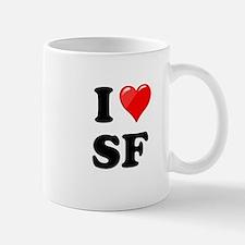 I Heart Love SF San Francisco.png Mug