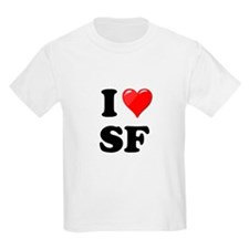I Heart Love SF San Francisco.png T-Shirt