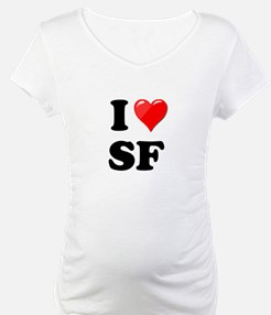 I Heart Love SF San Francisco.png Shirt