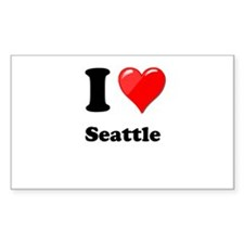 I Heart Love Seattle.png Decal
