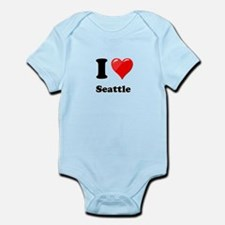 I Heart Love Seattle.png Infant Bodysuit