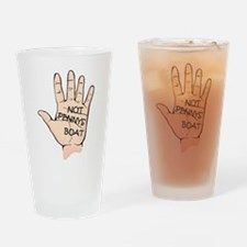"""Not Penny's Boat"" - LOST Drinking Glass"