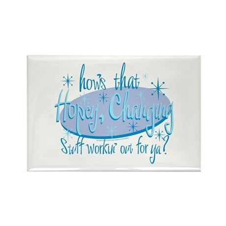 Hopey and Changing Rectangle Magnet (10 pack)