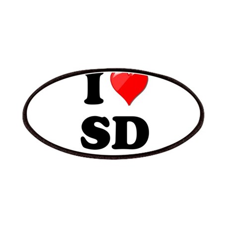 I Heart Love SD San Diego.png Patches