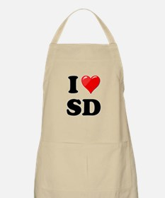 I Heart Love SD San Diego.png Apron