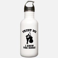 I Know The Score Water Bottle