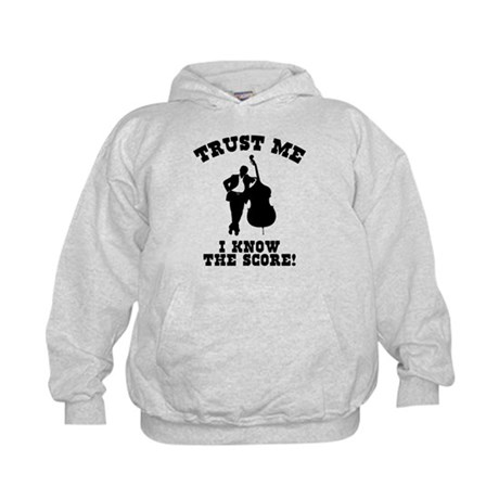 I Know The Score Kids Hoodie