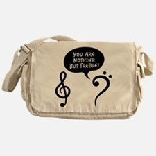 You're Trouble Messenger Bag