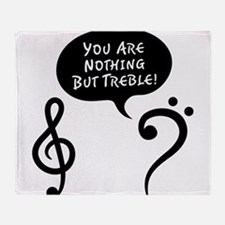 You're Trouble Throw Blanket