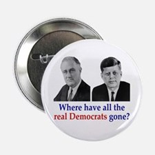 Real Democrats Button