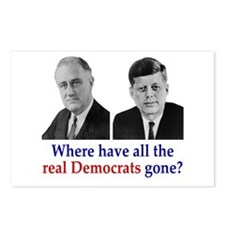 Real Democrats Postcards (Package of 8)