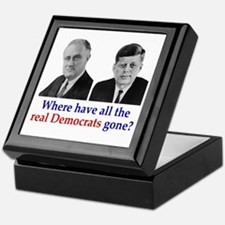 Real Democrats Keepsake Box