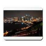 Downtown Pittsburgh Illuminated 1 Mousepad