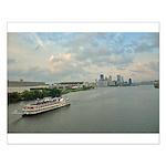 Majestic River Cruise Small Poster