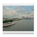 Majestic River Cruise Tile Coaster