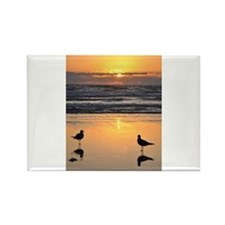 Early Bird Gets the Worm Rectangle Magnet