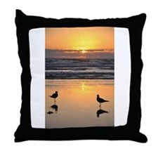 Early Bird Gets the Worm Throw Pillow