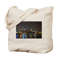 Downtown Pittsburgh Illuminated 3 Tote Bag