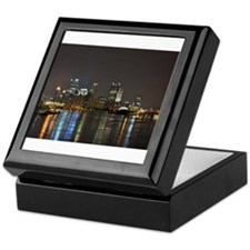 Downtown Pittsburgh Illuminated 3 Keepsake Box