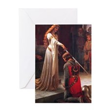 The Accolade by Leighton Greeting Card