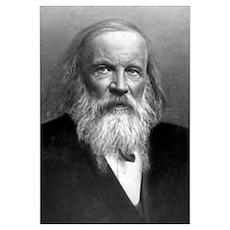 Dmitry Mendeleyev, Russian chemist Poster