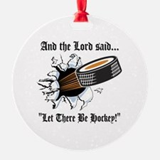 Funny Hockey Ornament