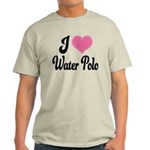 I Love Water Polo Light T-Shirt