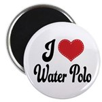 I Love Water Polo Magnet