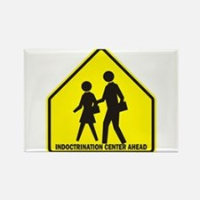 Indoctrination Center Ahead Rectangle Magnet