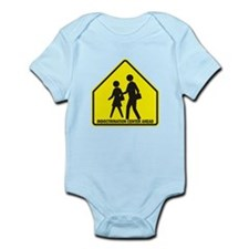 Indoctrination Center Ahead Infant Bodysuit